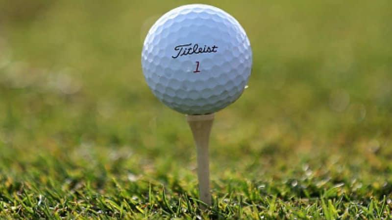 Titleist Golfbälle sind weit verbreitet. (Foto: Getty)