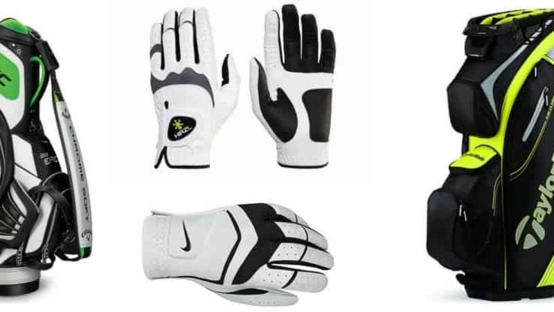 Golfbags und Handschuhe sind wichtige Werkzeuge auf dem Golfplatz. Golf Post hat eine Auswahl, passend zur kalten Jahreszeit, erstellt (Foto: Callaway/TaylorMade/Hirzl/Nike)