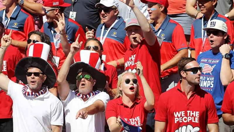 Presidents Cup 2017 Freitag Team USA Fans