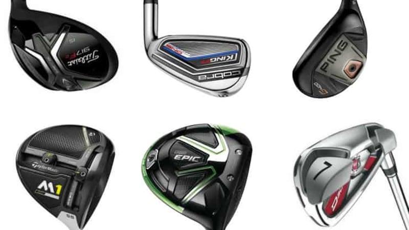 Driver, Hölzer, Eisen und Bags gibt's diese Woche im Deal der Woche bei Golf Post. (Foto: Callaway/TaylorMade/Wilson/Cobra/Ping/Titleist/Big Max)