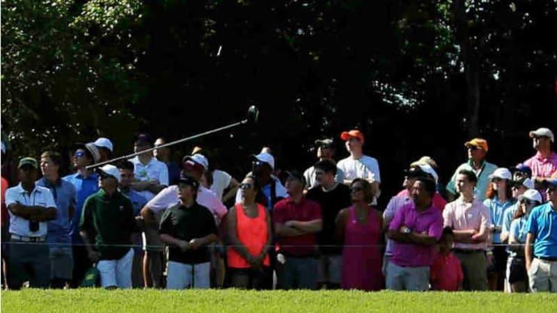 Ausreden über das eigene Spiel sind gang und gäbe auf dem Golfplatz. Man selbst weist sich selbstredend nie die Schuld zu, mal ist es der Wettergott, mal die zu enge Kleidung... (Foto: Getty)