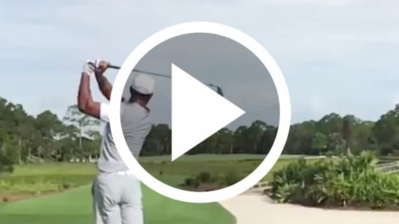 Tiger Woods Schwungvideo Stinger Golf Video