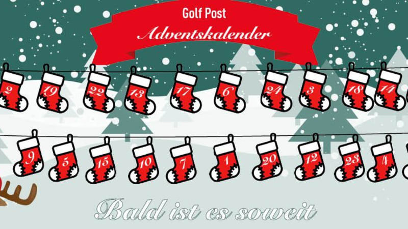 Der Golf Post Adventskalender geht in die nächste Runde. Am 1. Dezember geht's los! (Foto: Golf Post)