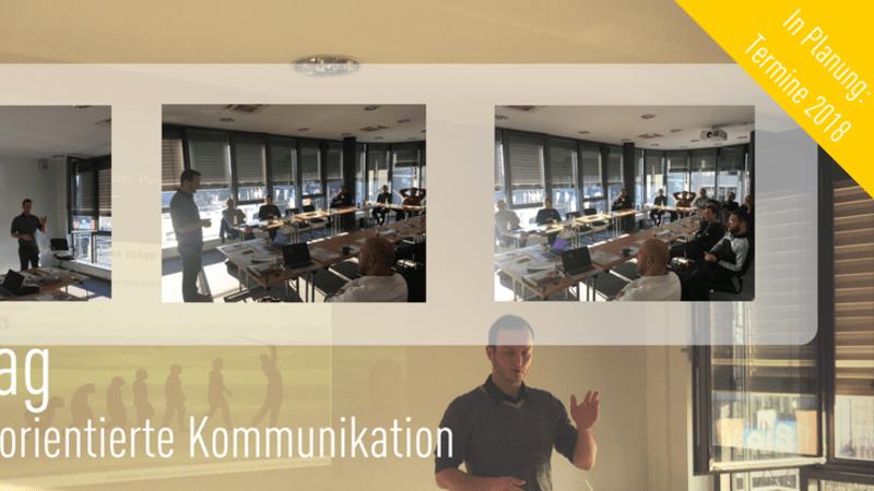 Der Fachtag Vertriebsorientierte Kommunikation in Köln. (Foto: Golf Post)