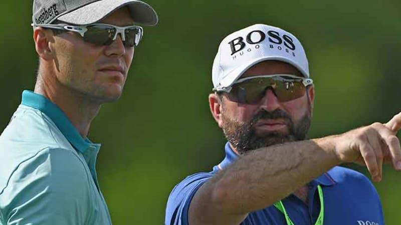 Die Caddies der Golfstars (Foto: Getty)
