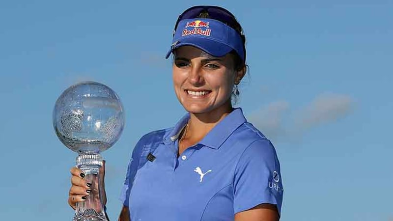 Lexi Thompson gewinnt das Race to the CME Globe. (Foto: Getty)