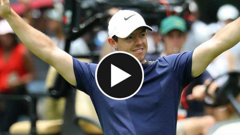 Rory McIlroy war für den ein oder anderen der besten Schläge des Jahres auf der PGA Tour verantwortlich. (Foto: Getty)