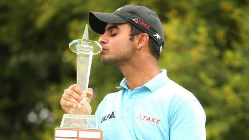 Shubhankar Sharma ist der glückliche Sieger der Joburg Open 2017. (Foto: Getty)