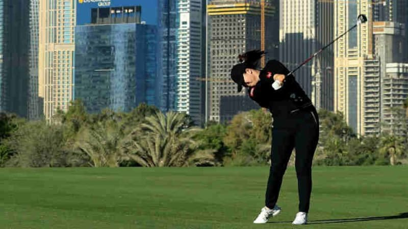 Angel Yin gewinnt die LET Omega Dubai Ladies Classic. (Foto: Getty)