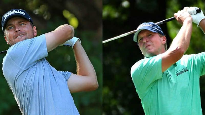 Sean O'Hair und Steve Stricker führen das QBE Shootout in Florida an. (Foto: Getty)