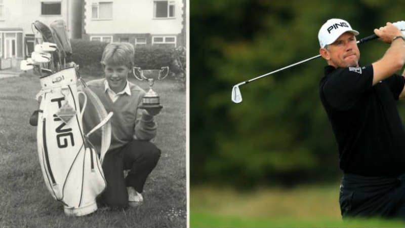 Schon als Junge spielte Lee Westwood Ping. (Foto: Ping)