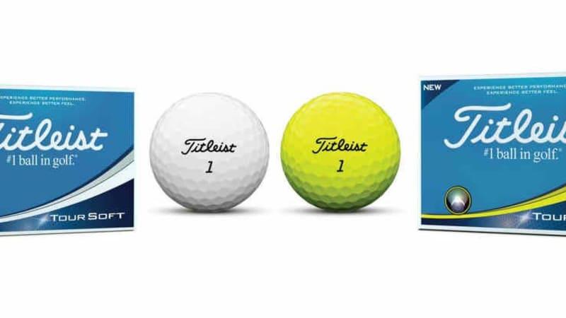 In zwei Varianten wird der Titleist Tour Soft angeboten. Spieler können sich auf viel Länge freuen. (Foto: Titleist)
