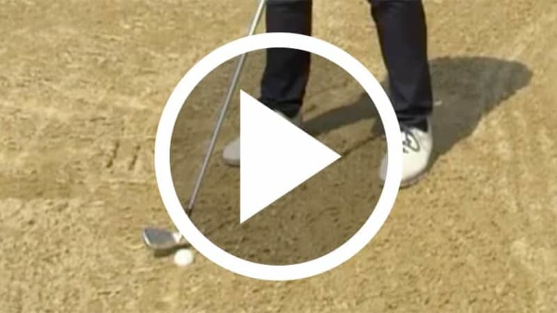Golf Video Trainingstipp Bunkerschlag