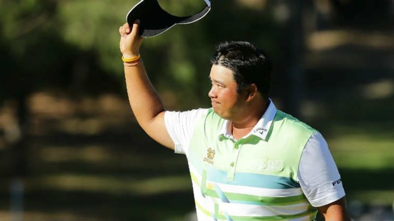 Kiradech Aphibarnrat gewinnt die ISPS Handa World Super 6 2018 in Perth. (Foto: Getty)