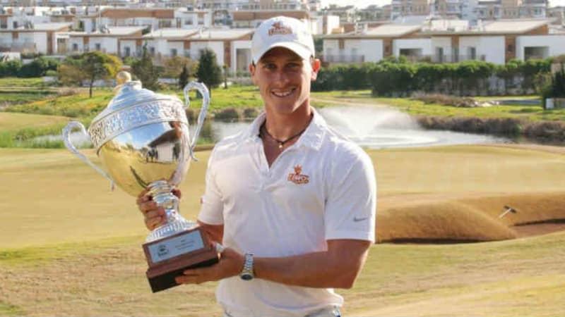 Julien de Poyen gewinnt die Open Casa Green Golf der Pro Golf Tour in Marokko. (Foto: Pro Golf Tour)