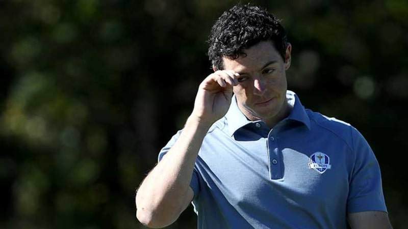 Rory McIlroy beim Ryder Cup 2016 in Hazeltine, USA. (Foto: Getty)