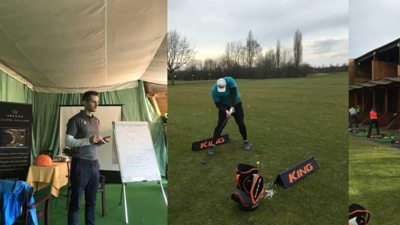 Am Velderhof stellten sich viele Golfer der Long-Drive-Challenge und das gleich mit ordentlichen Längen. (Foto: Golf Post)
