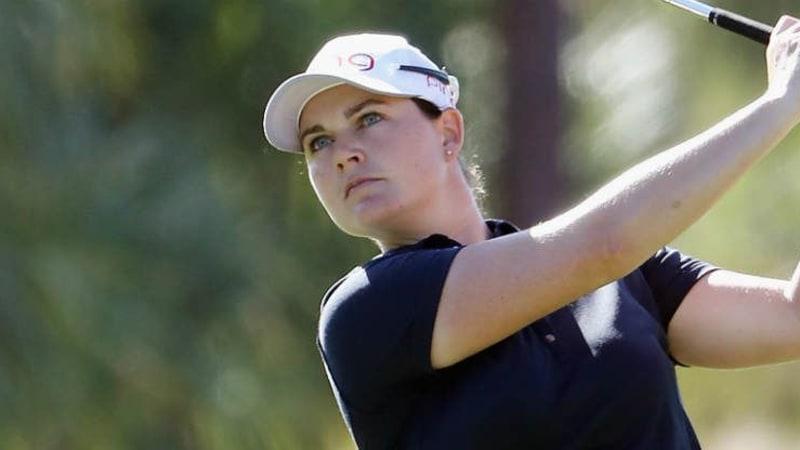 Caroline Masson im Mittelfeld des Bank of Hope Founders Cup der LPGA Tour. (Foto: Getty)