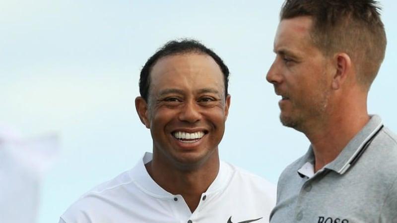 Tiger Woods hat den führenden Henrik Stenson beim Arnold Palmer Invitational der PGA Tour im Blick. (Foto: Getty)