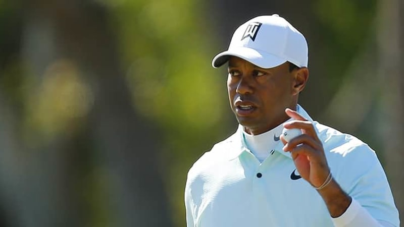 Tiger Woods PGA Tour Valspar Championship Runde 2