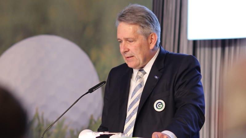 Claus Kobold, Präsident des Deutschen Golf Verbandes.(Foto: DGV)