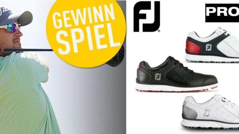 Jetzt den FootJoy Pro/SL designen, von Bernd Wiesberger als Gewinner bestimmen lassen. (Foto: FootJoy)