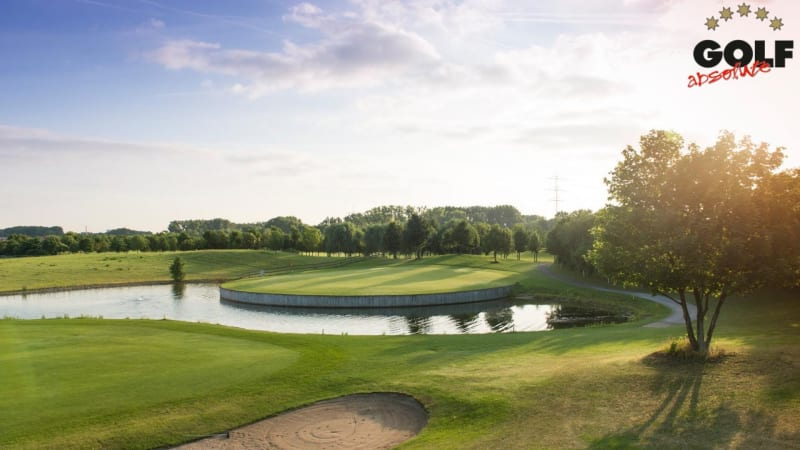 Zwei Golf Post Mitarbeiter haben das Konzept und vier der zehn Plätze von Golf Absolute unter die Lupe genommen. (Foto: Golfpark Biblis Wattenheim)