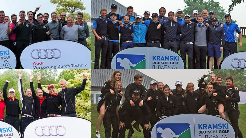 Deutsche Golf Liga 1. Bundesliga Spieltag 1 Ergebnisse