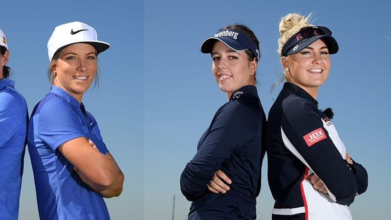 European Tour GolfSixes 2018 Damenteams Ladies European Tour