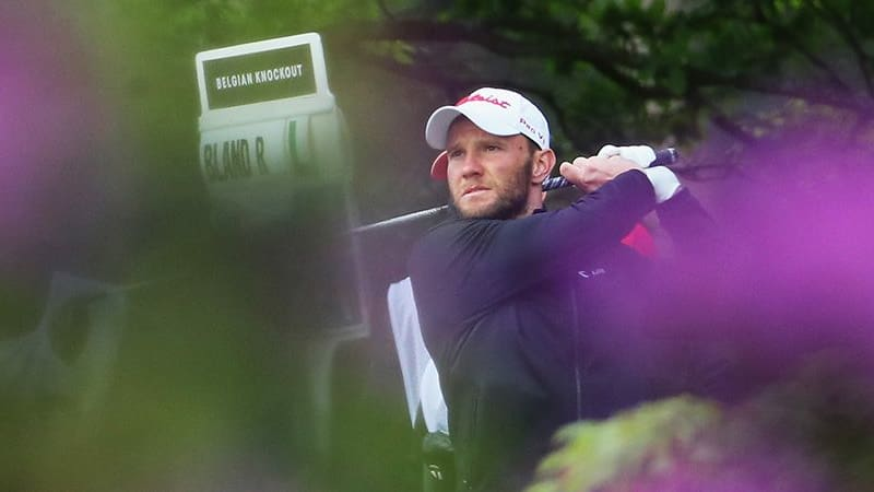Max Kieffer meistert beim Belgian Knockout der European Tour den Cut. (Foto: Getty)