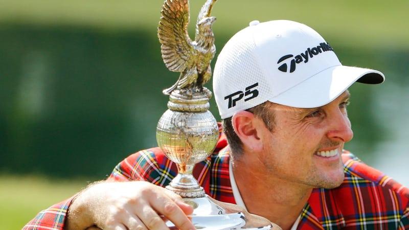 PGA Tour Fort Worth Invitational 2018 Ergebnisse Finale Sieger Justin Rose