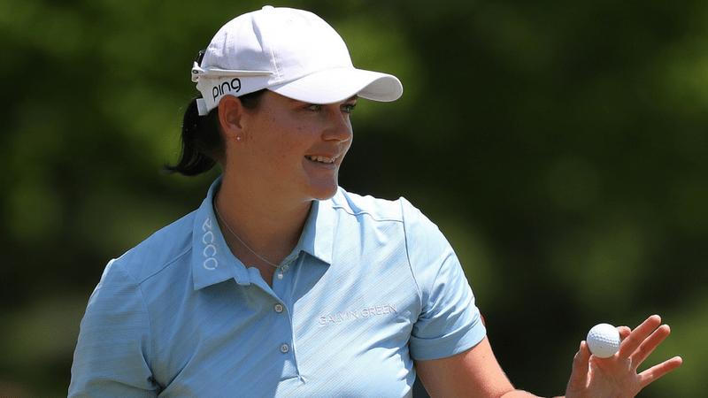 Caroline Masson kann nicht an ihre Glanzleistung aus der ersten Runde der LPGA Volvik Championship anknüpfen. (Foto: Getty)
