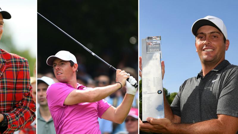 Die TaylorMade-Equipment-Spieler Justin Rose, Rory McIlroy und Francesco Molinari mit guten Ergebnissen auf European Tour und PGA Tour. (Foto: Getty)