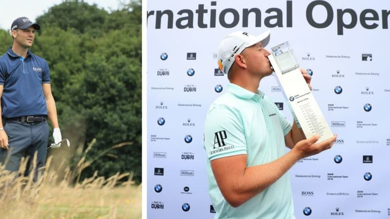Matt Wallace (re.) gewinnt die BMW International Open 2018. (Foto: Getty)