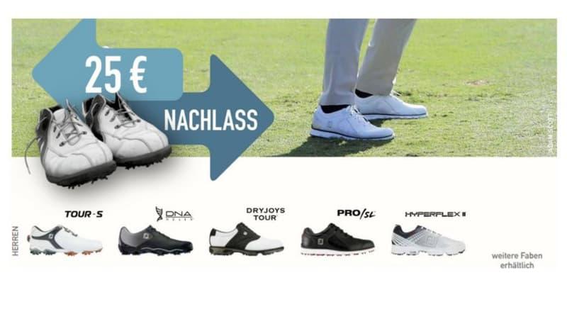 FootJoy Schuhtauschaktion: 25€ Rabatt sichern. (Foto: FootJoy)