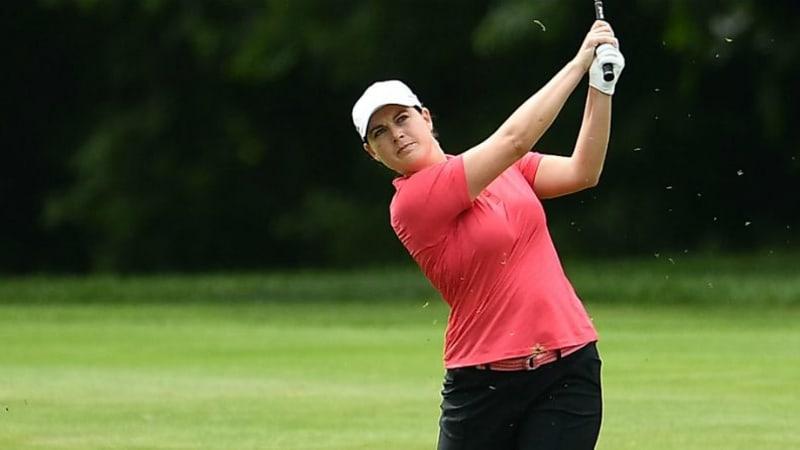 Caroline Masson geht von T4 ins Finale auf der LPGA Tour. (Foto: Getty)