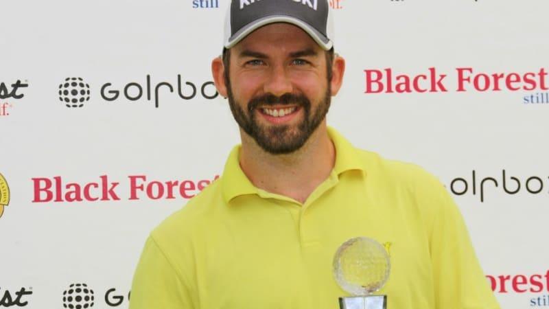 Allen John gewinnt mit zwei Schlägen Vorsprung auf der Pro Golf Tour. (Foto: Pro Golf Tour)