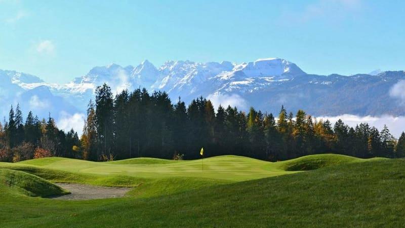Peter Oppen war in Südtirol, unter anderem im Dolomiti Golf Club. (Foto: Peter Oppen)