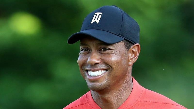 Tiger Woods freut sich auf die Open Championship. (Foto: Getty)