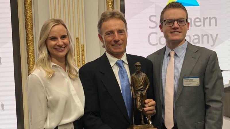 Bernhard Langer erhält den Payne Stewart Award 2018 der PGA Tour
