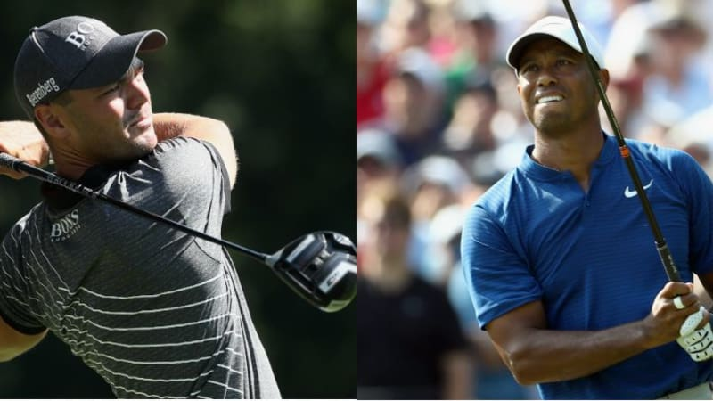 Martin Kaymer und Tiger Woods geben Vollgas am Moving Day der PGA Championship 2018. (Foto: Getty)