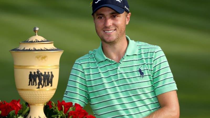 Justin Thomas gewinnt seine erste World Golf Championship. (Foto: Getty)