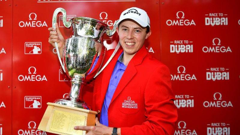 Matthew Fitzpatrick gewinnt das Omega European Masters der European Tour. (Foto: Getty)