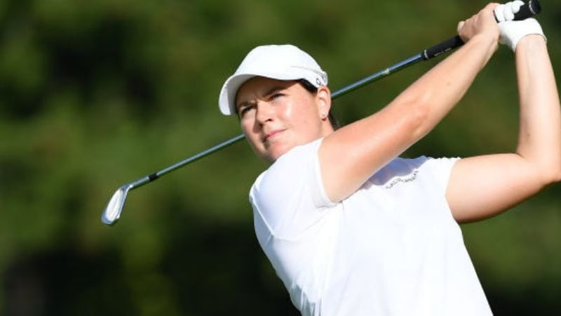 Caroline Masson mit undankbarem Finish beim Moving Day der Evian Championship. (Foto: Getty)