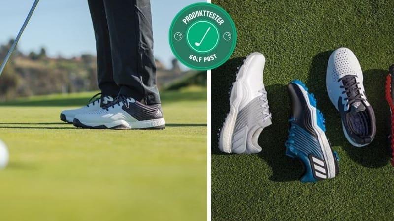 Unsere fünf fleißigen Tester haben die neuen Adidas 4orged Golfschuhe bereits für Sie getestet. (Foto: Golf Post)