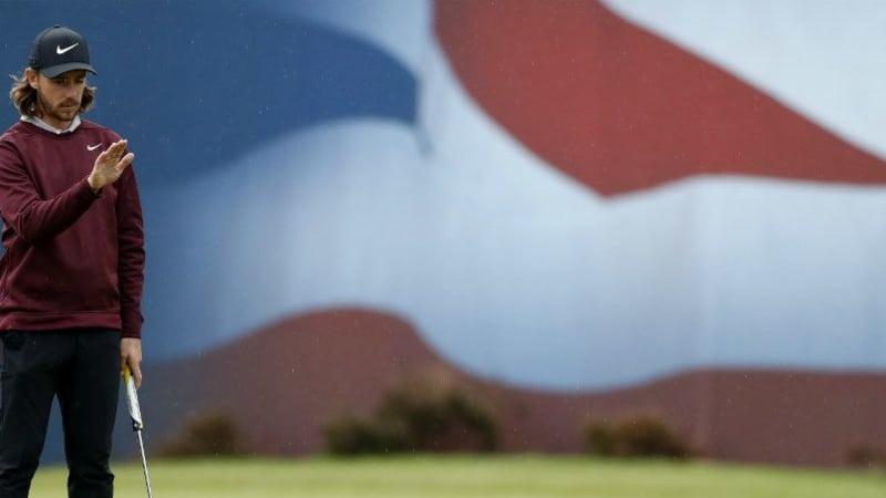 Tommy Fleetwood ist einer der Führenden beim British Masters 2018 der European Tour. (Foto: Getty)
