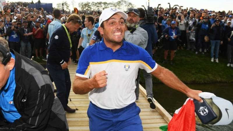 Francesco Molinari ist der Held des diesjährigen Ryder Cups im Le Golf National. (Foto: Getty)
