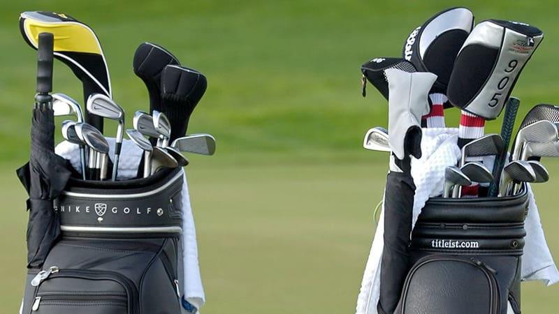 Nach der Saison bietet sich die CHance, das Golfbag zu entrümpeln. (Foto: Getty)