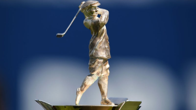 Die Harry Vardon Trophy wird in Zukunft nach einem neuen Punktesystem vergeben. (Foto: Getty)