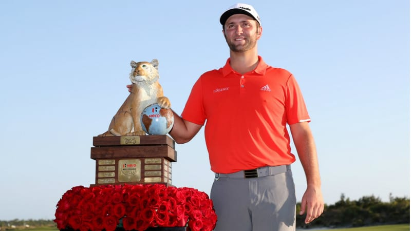 Strahlender Sieger der Hero World Challenge 2018: Jon Rahm. (Foto: Getty)